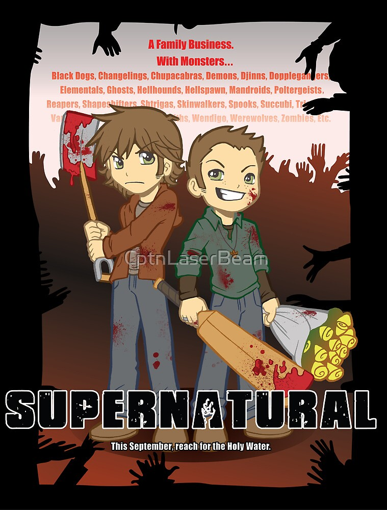 Supernatural - Goin to the Winchesters by CptnLaserBeam
