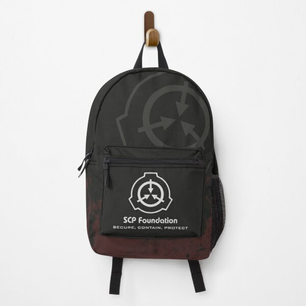 Secure Contain Protect SCP Foundation Emblem Backpack