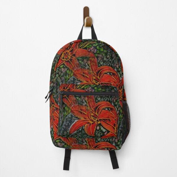 Nightblooming Daylily Flowers Backpack