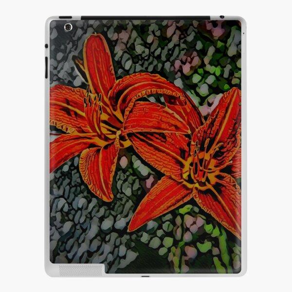 Nightblooming Daylily Flowers iPad Skin