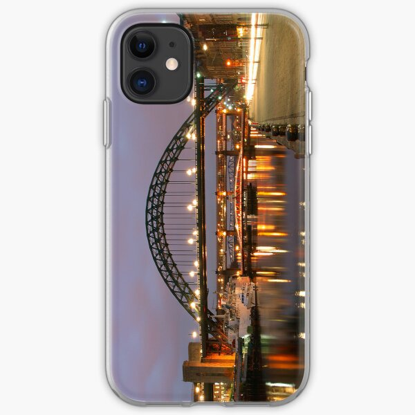 Newcastle at Night iPhone Soft Case