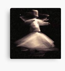 sufism art Canvas Print