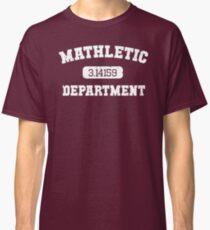 Mathletic Department Classic T-Shirt
