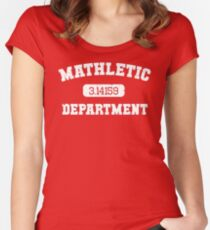 Mathletic Department Women's Fitted Scoop T-Shirt