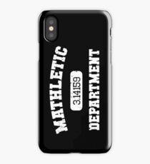 Mathletic Department iPhone Case/Skin