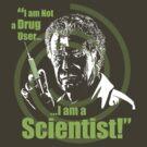 Walter Bishop - I am Not a Drug User...I am a Scientist! by godgeeki