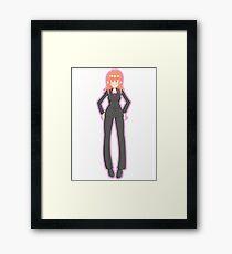 Donna Noble (Pink) Framed Print