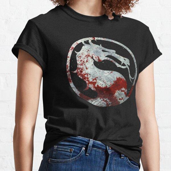 Mortal Kombat - Vintage Silver Classic T-Shirt