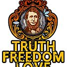 Truth Freedom Love by Humberto Braga