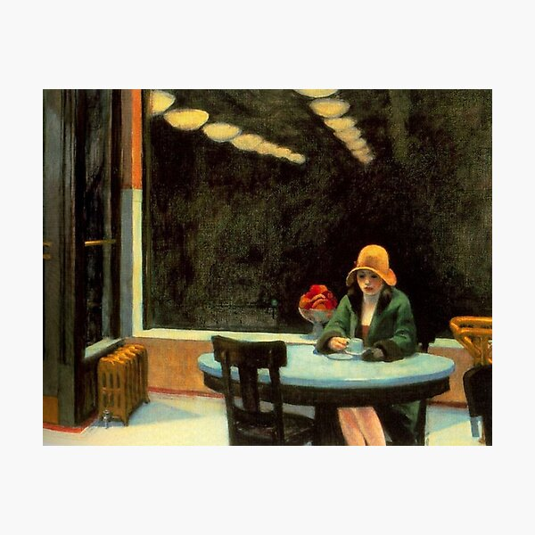AUTOMAT - EDWARD HOPPER Impression photo