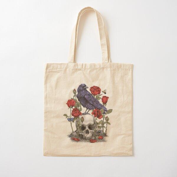 Memento Mori  Cotton Tote Bag