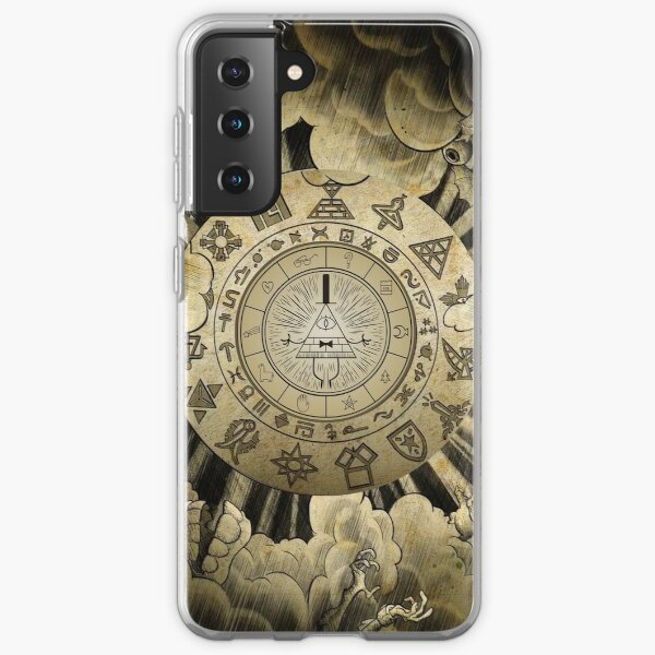 Bill Cipher Wheel Coque souple Samsung Galaxy