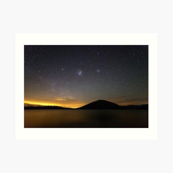 """Sky of Solitude"" ∞ Lake Somerset, QLD - Australia Art Print"