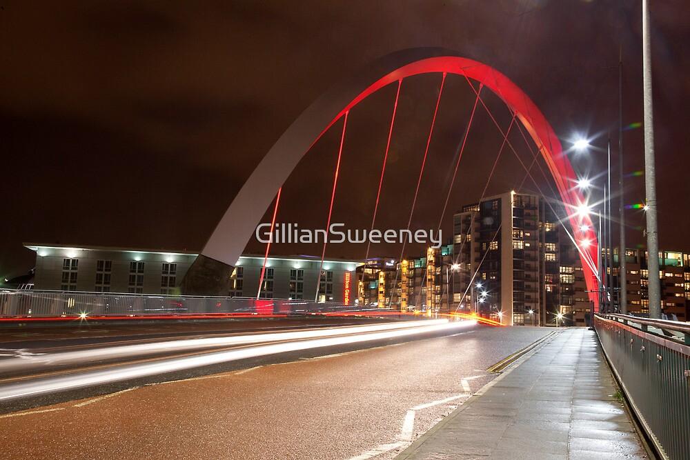 CLYDE ARC (SQUINTY BRIDGE) - GLASGOW  by GillianSweeney
