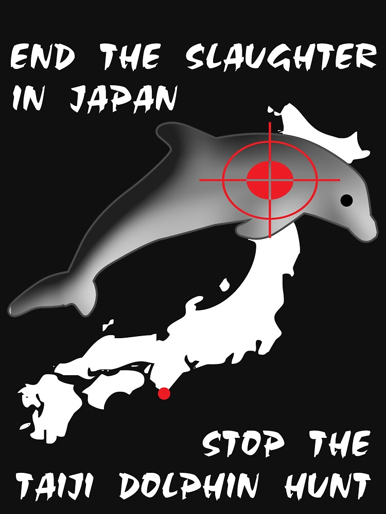Protest the Taiji Dolphin Hunt by oddmetersam
