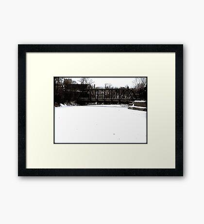 Cedarburg © Framed Print