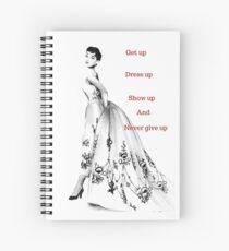 Audrey Hepburn Quote Spiral Notebook