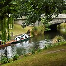 Boats in the Rain, Christchurch by Dilshara Hill