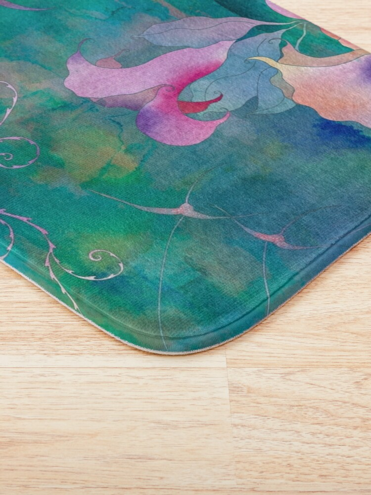 Alternate view of Afternoon in the tropical forest Bath Mat