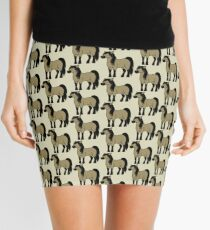 Buckskin Horse Mini Skirt