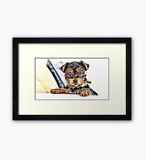Wild nature - dog #5 Framed Print