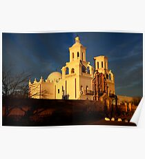 Mission San Xavier Del Bac Last Light Poster