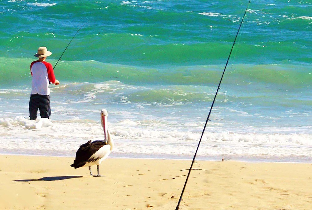 Beach scene with Mr. Hopeful by georgieboy98