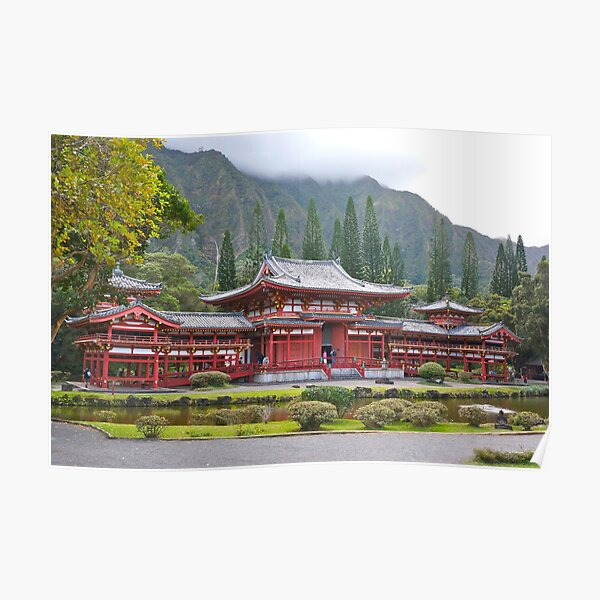 Byodo-In Japanese Temple Poster