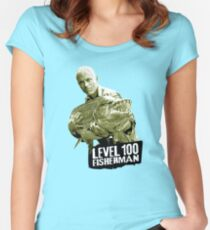 Jeremy Wade - Level 100 Fisherman Women's Fitted Scoop T-Shirt