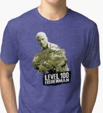 Jeremy Wade - Level 100 Fisherman Tri-blend T-Shirt