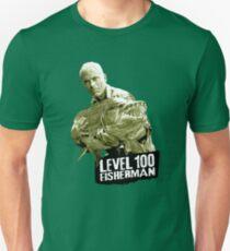 Camiseta unisex Jeremy Wade - Pescador de nivel 100