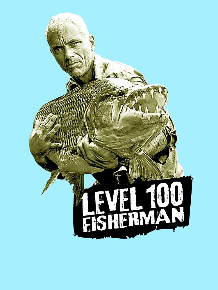 Jeremy Wade - Level 100 Fisherman von GKdesign