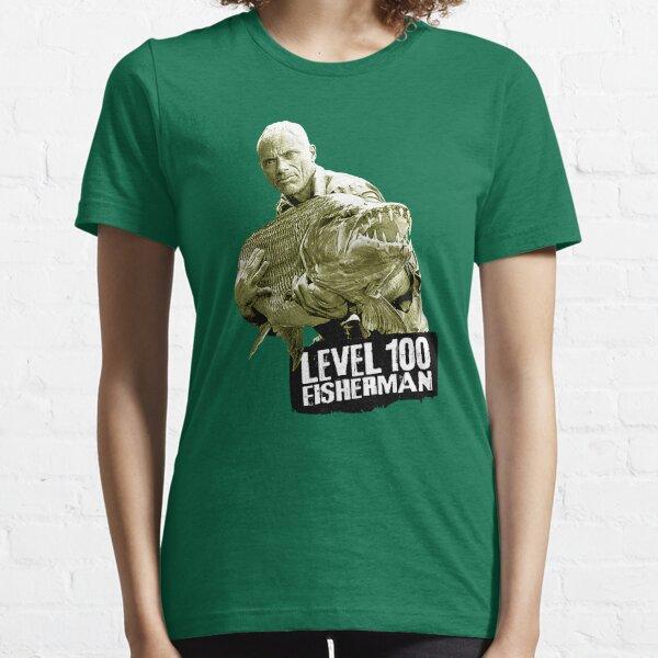 Jeremy Wade - Level 100 Fisherman Essential T-Shirt