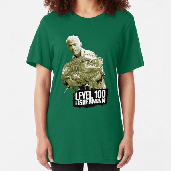 Jeremy Wade - Level 100 Fisherman Slim Fit T-Shirt