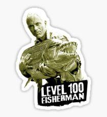 Jeremy Wade - Level 100 Fisherman Sticker