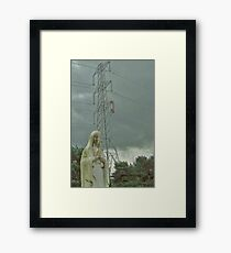 Watching over you Framed Print