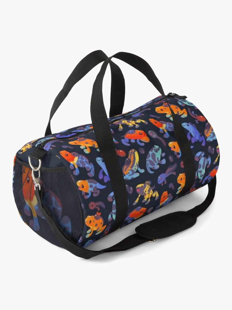 Alternate view of Poison dart frogs - dark Duffle Bag