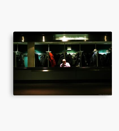 the cloakroom Canvas Print