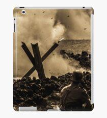 WW2 Shrapnel iPad Case/Skin
