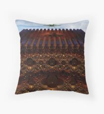 Alien LZ And Fortress Throw Pillow