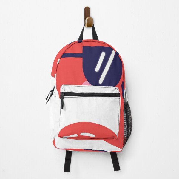 heart with glasses Backpack
