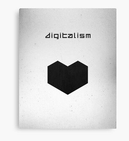 Digitalism Canvas Print