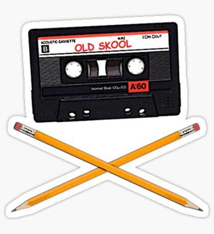 Old skool  Sticker