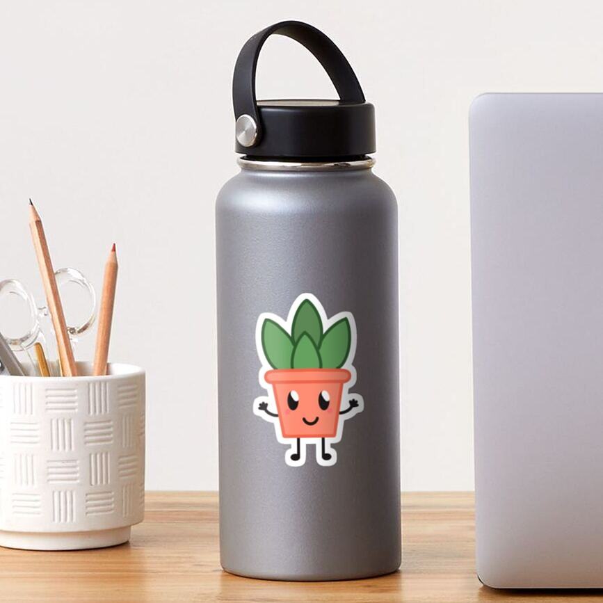 Potted Plant Sticker