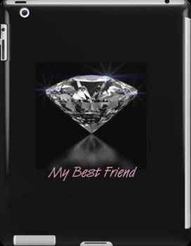 Diamonds iPad Case by Catherine Hamilton-Veal  ©