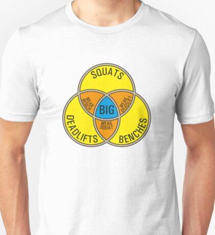 Deadlift Bench Squat (G rated) T-Shirt