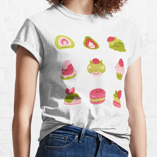 Strawberry Matcha - black Classic T-Shirt