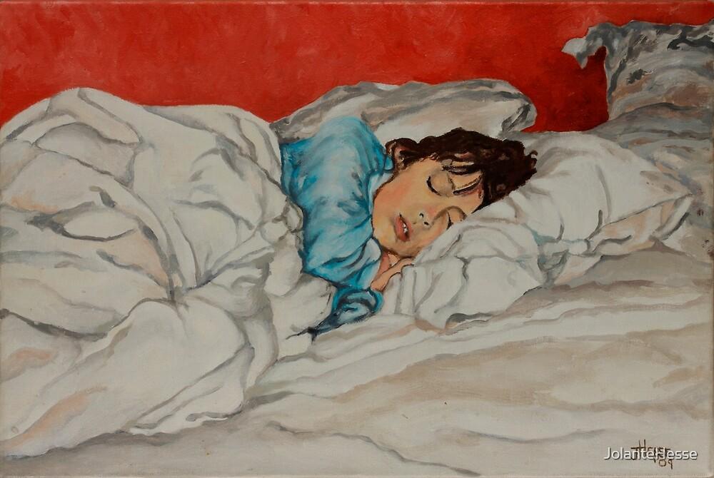 Sleeping Girl by JolanteHesse