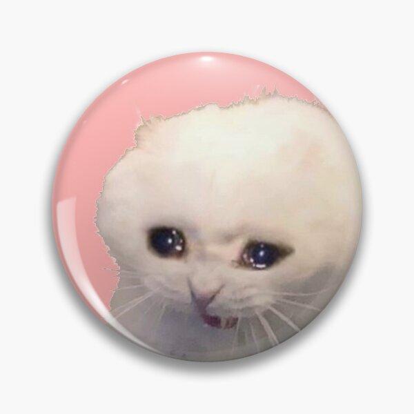 sad cat Pin