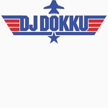 Custom Top Gun Style - DJ Dokku by CallsignShirts